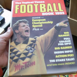 TOPICAL TIMES FOOTBALL BOOK 1993 euro championship special must find @SOLD@